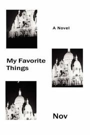 Cover of: My Favorite Things | Nov