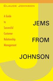 Cover of: Jems from Johnson | Claude Johnson