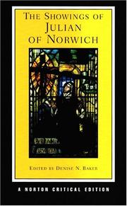 Cover of: The Showings of Julian of Norwich