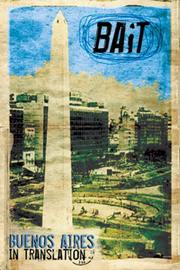 Cover of: Bait: Buenos Aires in Translation