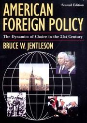 Cover of: American Foreign Policy