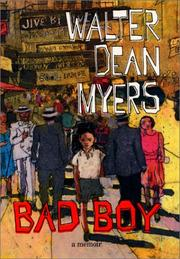 Cover of: Bad Boy | Walter Dean Myers