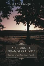 Cover of: A Return to Grandpa