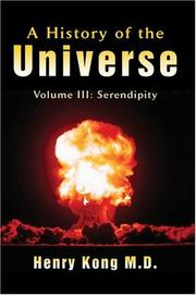 Cover of: A History of the Universe: Volume III | Henry Kong