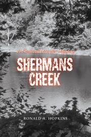 Cover of: Shermans Creek | Ronald A Hopkins