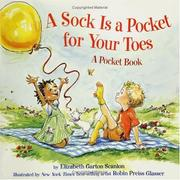 Cover of: A sock is a pocket for your toes: a pocket book