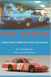 Cover of: Top Speed
