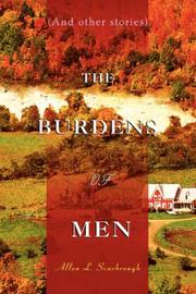 Cover of: The Burdens Of Men | Allen L Scarbrough