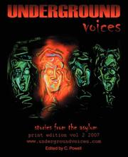 Cover of: Underground Voices | C Powell