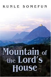 Cover of: Mountain of the Lord
