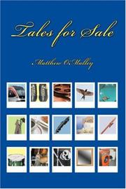 Cover of: Tales for Sale | Matthew O