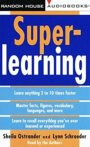 Cover of: SuperLearning |