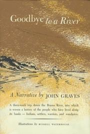 Cover of: Goodbye to a River | John Graves