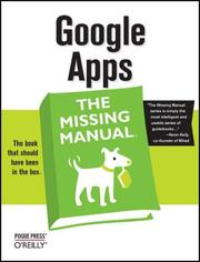 Cover of: Google Apps by Missing Editorial Team