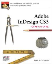 Cover of: InDesign CS3 One on One | Deke McClelland