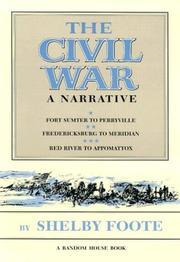 Cover of: Civil War | Shelby Foote