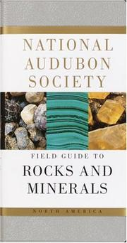 Cover of: National Audubon Society Field Guide to North American Rocks and Minerals (Audubon Society Field Guide)