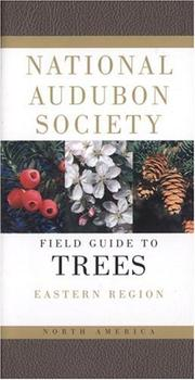 Cover of: National Audubon Society Field Guide to North American Trees