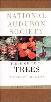 Cover of: The Audubon Society field guide to North American trees