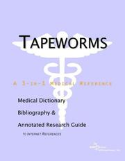 Cover of: Tapeworms | ICON Health Publications