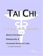 Cover of: Tai Chi | ICON Health Publications