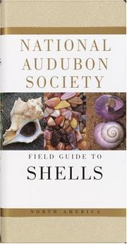 Cover of: National Audubon Society Field Guide to North American Seashells (National Audubon Society Field Guide Series)