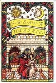 Cover of: French folktales from the collection of Henri Pourrat