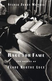 Cover of: Rage for fame