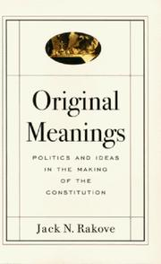 Original meanings