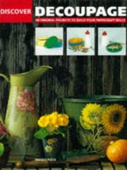 Cover of: Discover Decoupage (Discover)