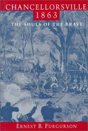 Cover of: Chancellorsville, 1863 | Ernest B. Furgurson