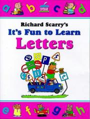 Cover of: Richard Scarry's It's Fun to Learn