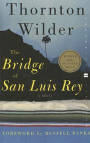 Cover of: Bridge Of San Luis Rey