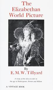 Cover of: The Elizabethan world picture