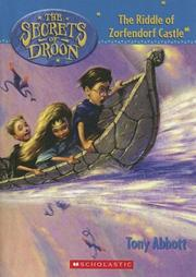 Cover of: Riddle of Zorfendorf Castle (Secrets of Droon)