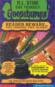 Cover of: Attack of the Beastly Babysitter | R. L. Stine