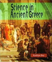Cover of: Science in Ancient Greece (Science of the Past)