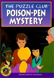 Cover of: Poison Pen Mystery (Puzzle Club)