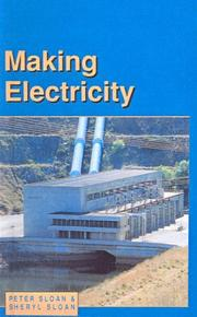 Cover of: Making Electricity | Peter Sloan