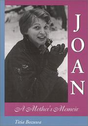 Cover of: Joan, A Mother