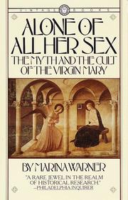 Cover of: Alone of all her sex
