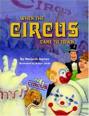 Cover of: When the Circus Came To Town | MARJORIE BUEHLER-JAYNES