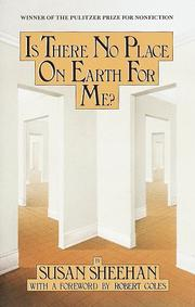Cover of: Is there no place on earth for me? | Susan Sheehan