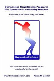 Cover of: Gymnastics Conditioning Programs