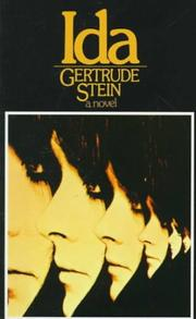 Cover of: Ida | Gertrude Stein