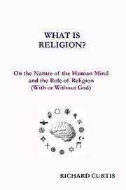 Cover of: What is Religion?