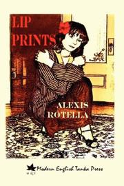 Cover of: Lip prints: tanka and other short poems, 1979-2007