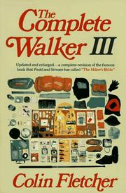 Cover of: The complete walker III