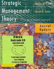 Cover of: Strategic Management Theory And Cd-rom