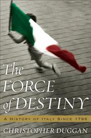 Cover of: The Force of Destiny | Christopher Duggan
